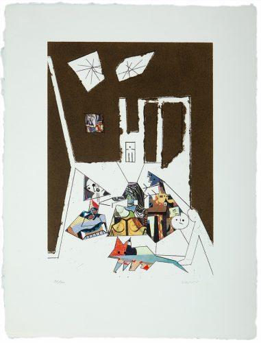 El Cubismo como Pretexto I by Manolo Valdes