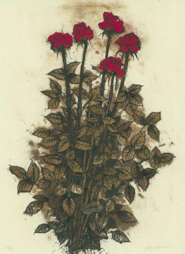 Red Roses by John Alexander at