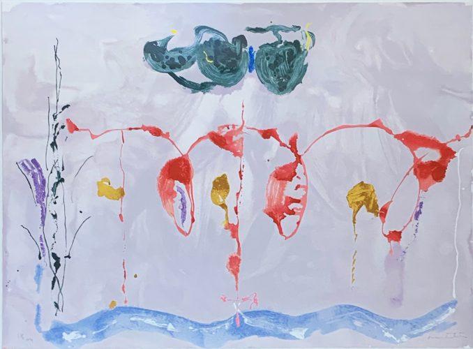 Aerie by Helen Frankenthaler at