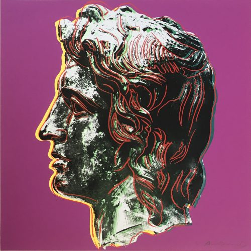 Alexander the Great (291) by Andy Warhol