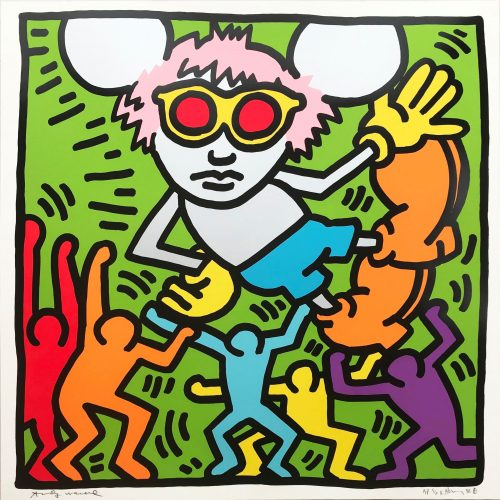 Andy Mouse #2 by Keith Haring