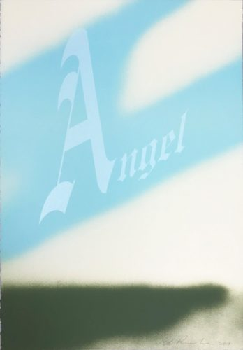 Angel by Ed Ruscha at Hamilton-Selway Fine Art