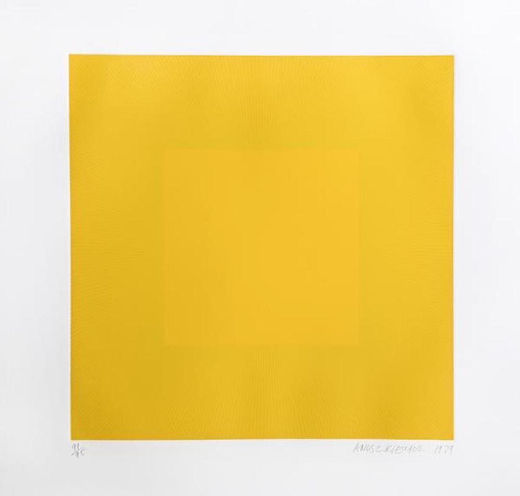 Spring Suite (Yellow with Yellow) by Richard Anuszkiewicz