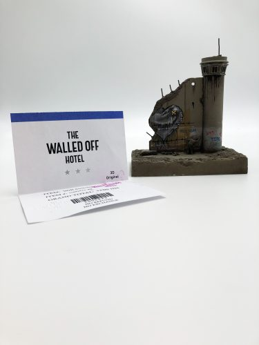 Walled Off Hotel – Wall Sculpture by Banksy