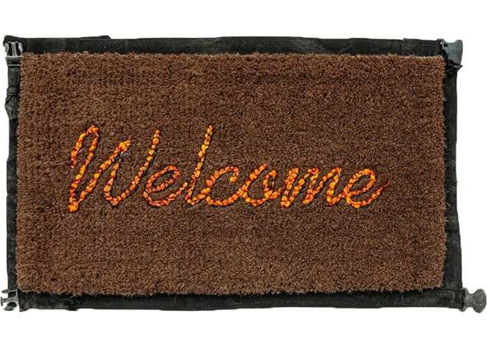 Welcome Mat by Banksy