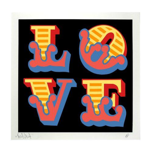 Love by Ben Eine