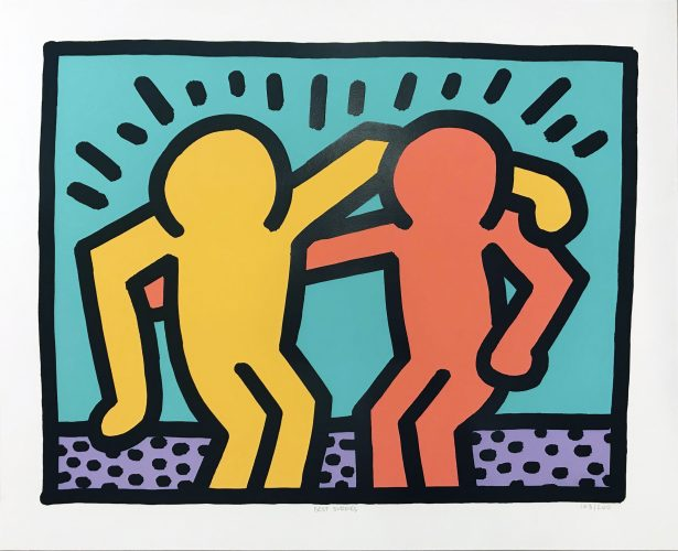 Best Buddies by Keith Haring