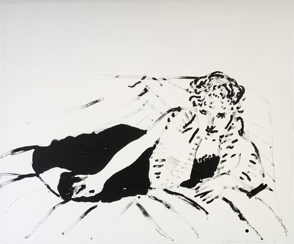 Big Celia #1 by David Hockney