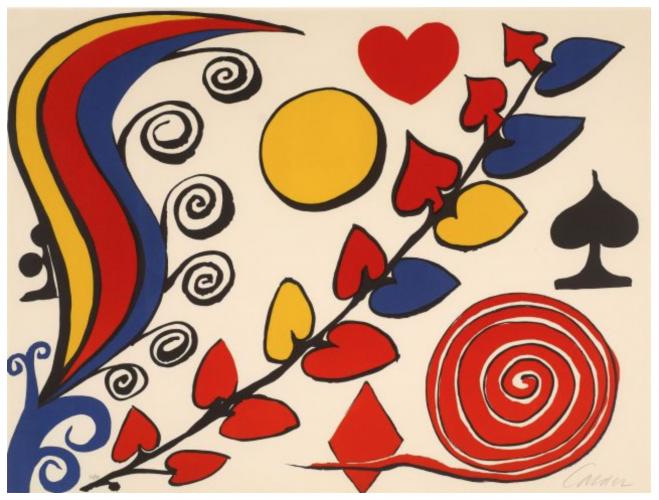 Composition by Alexander Calder