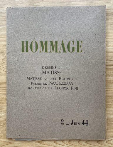 Hommage, Dessins de Matisse by Henri Matisse