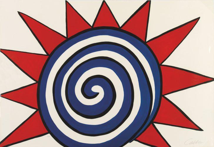 Spiral Sun by Alexander Calder