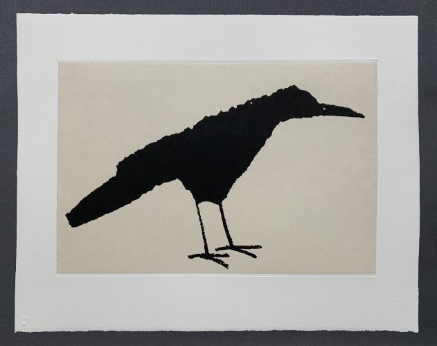 Standing Crow by Cyrus Highsmith at