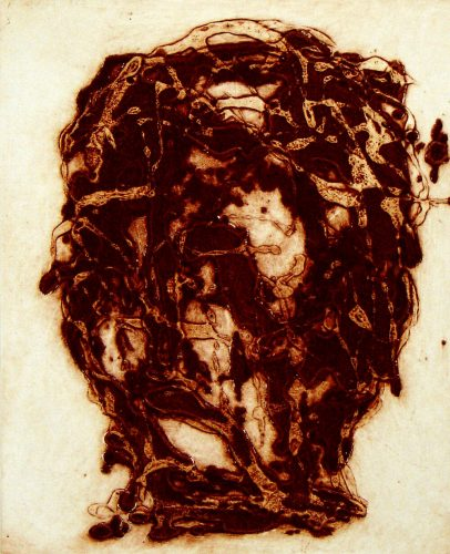 Carborundum Head IV by Peter Griffin at Peter Griffin