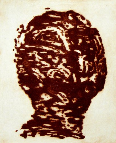 Carborundum Head V by Peter Griffin at Peter Griffin
