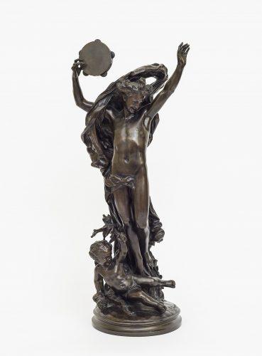 Le génie de la danse by Jean-Baptiste Carpeaux