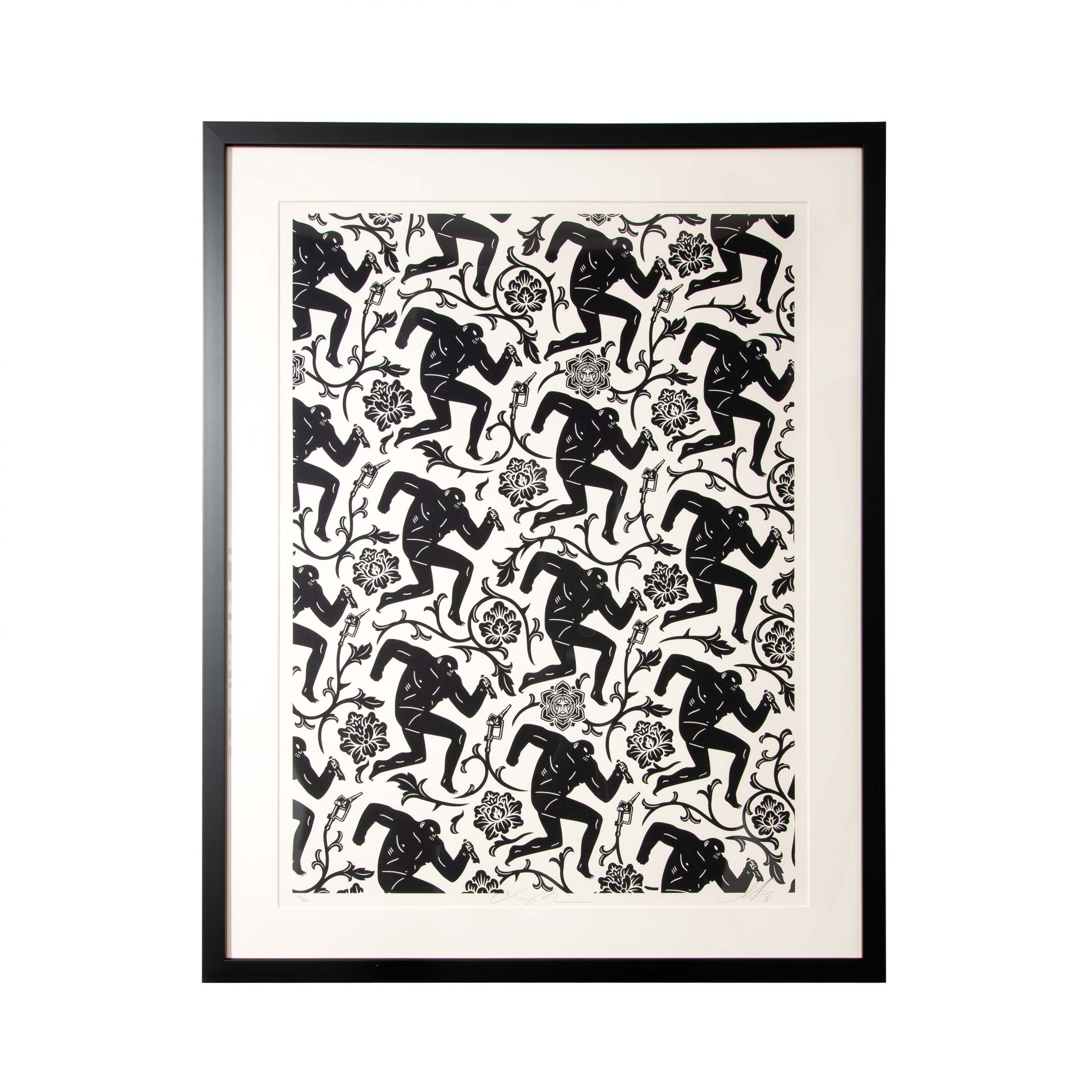 Patterns of Corruption by Shepard Fairey & Cleon Peterson