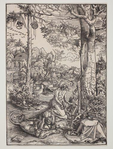 Die Buße des hl. Hieronymus (St. Jerome in the Wilderness) by Lucas Cranach at
