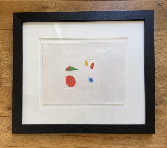 Le Vent Parmi les Roseaux 3 by Joan Miro