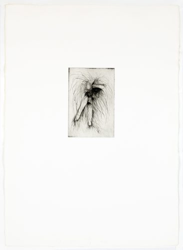 Tool Drypoint: Wrench by Jim Dine at Petersburg Press