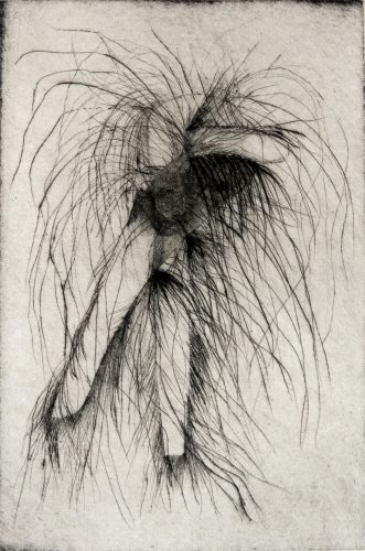 Tool Drypoint: Wrench by Jim Dine