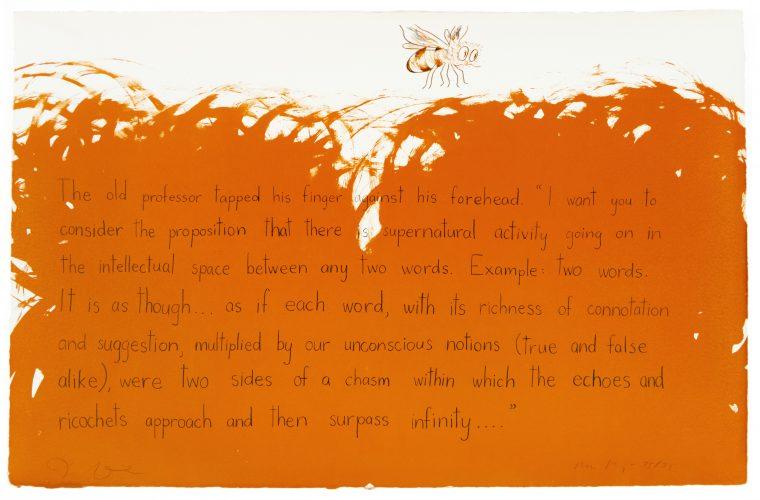 Old Professor (Oo la la) by Jim Dine