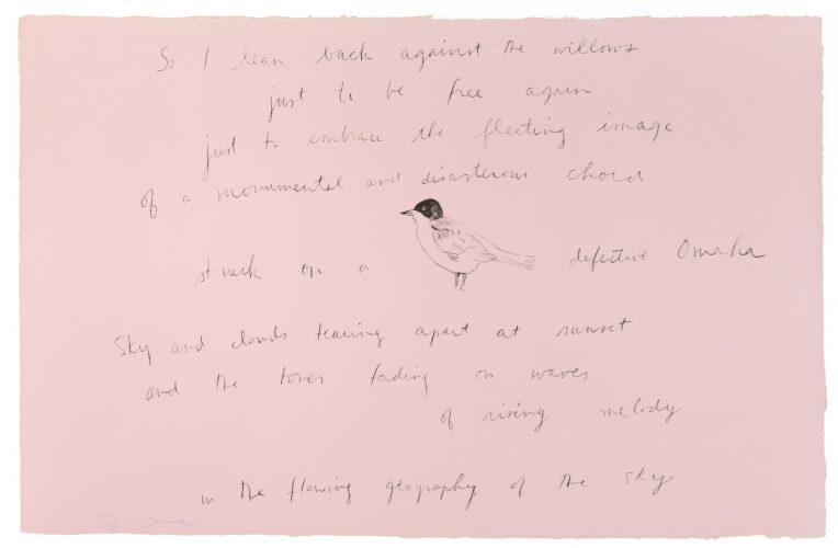 So I leaned back (Oo la la) by Jim Dine