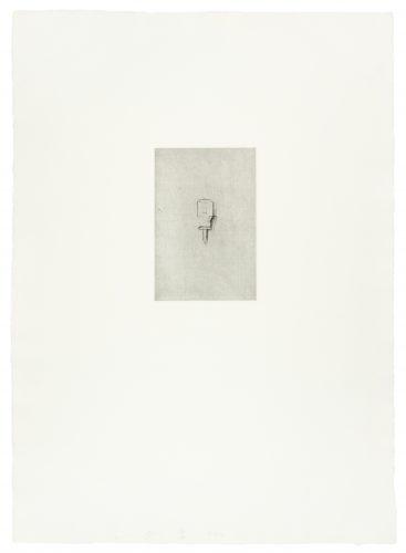 Phillips Screwdriver (30 Bones of My Body portfolio) by Jim Dine