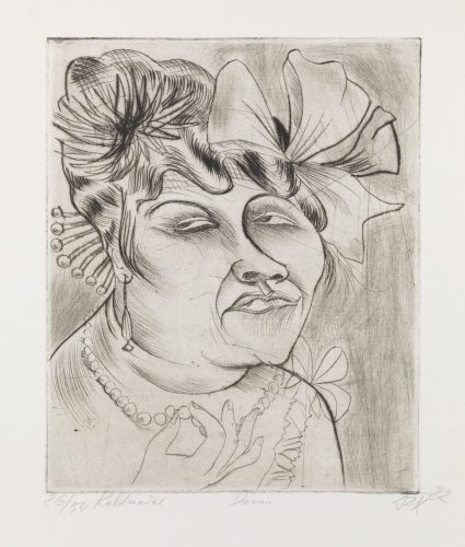 Lady by Otto Dix