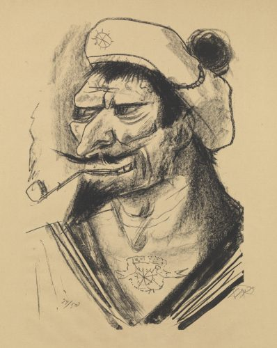 Southern Sailor by Otto Dix