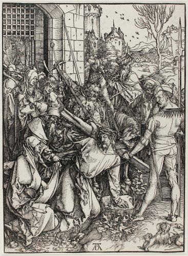 Kreuztragung (Christ Carrying the Cross) by Albrecht Durer