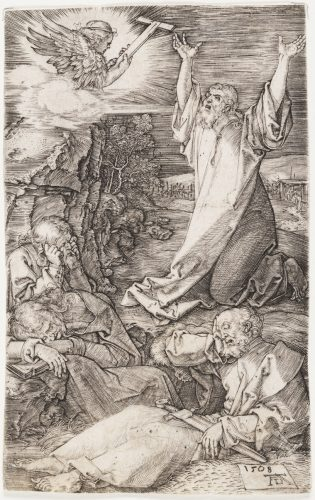 Agony in the Garden by Albrecht Durer at Christopher-Clark Fine Art