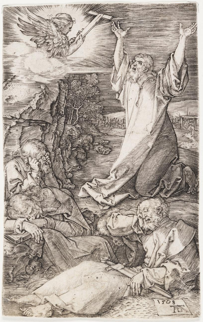 Agony in the Garden by Albrecht Durer