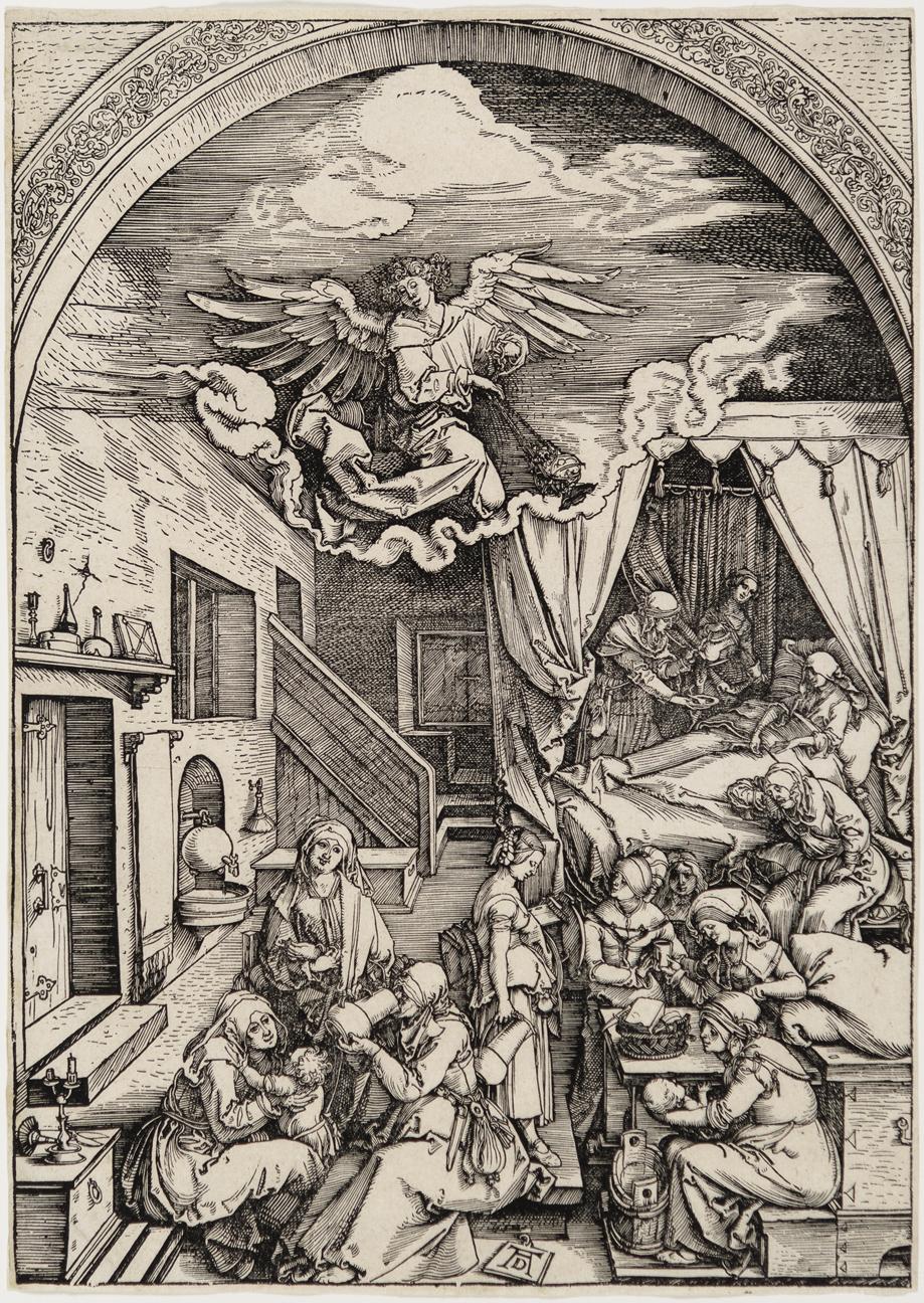 The  Birth of the Virgin by Albrecht Durer