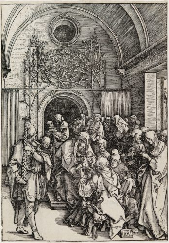 The Circumcision of Christ by Albrecht Durer