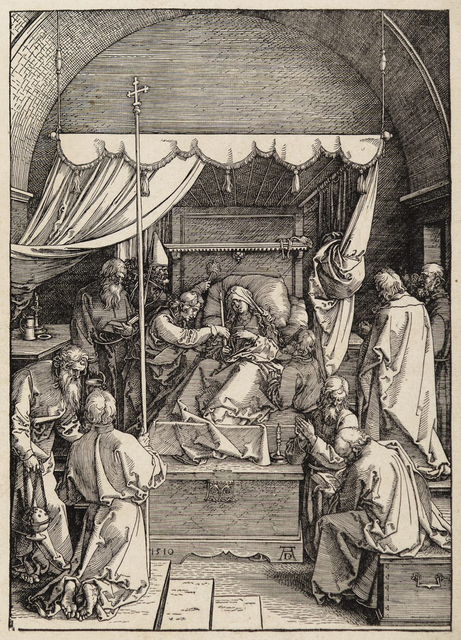 The Death of the Virgin by Albrecht Durer