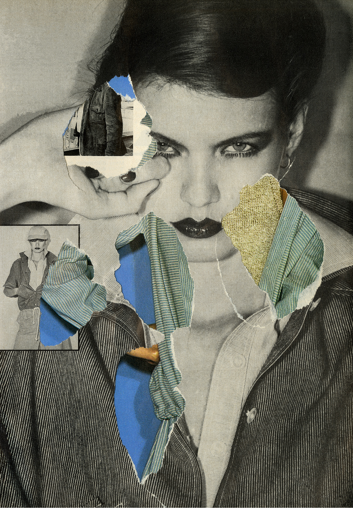 Secondary Collage [2] by Ehryn Torrell