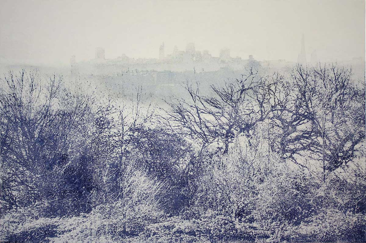 Ephemeral – London from Parliament Hill by Marianne Nix
