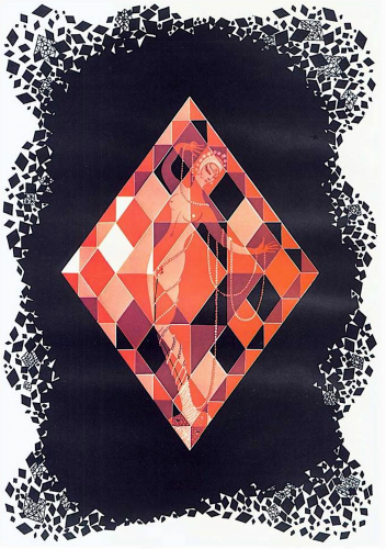 Ace of Diamonds by Erte at