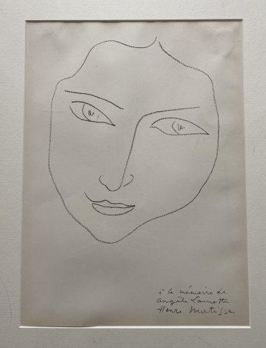 Tete de femme by Henri Matisse