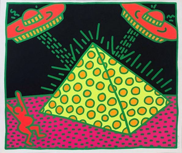 Untitled (Fertility #2) by Keith Haring
