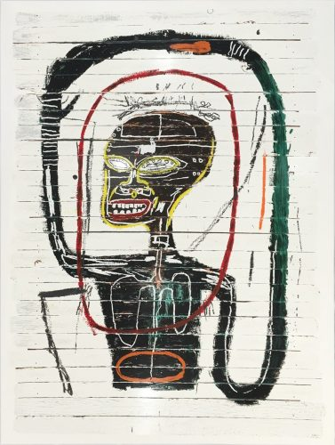 Flexible by Jean-Michel Basquiat at Hamilton-Selway Fine Art