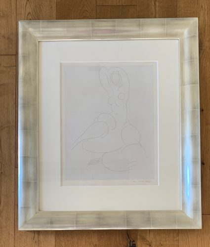 Nu Pour Cleveland (Nude for Cleveland) by Henri Matisse at