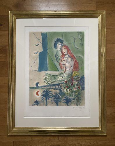 Sirène au Poète by Marc Chagall at