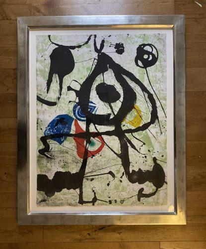 Grans Rupestres VI by Joan Miro