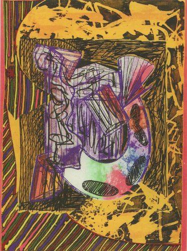 Bene Come il Sale by Frank Stella at