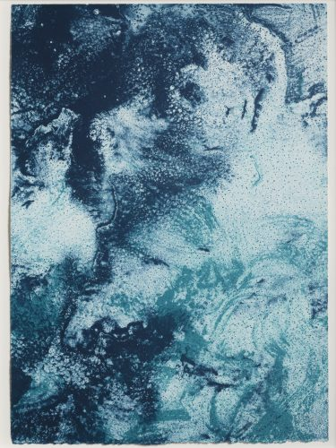 Ocean Blue 23 (Color Test Print #12) by Joe Goode
