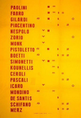 Manifesto 2017 by Gabriele de Santis