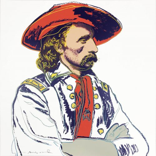 Cowboys and Indians: General Custer by Andy Warhol