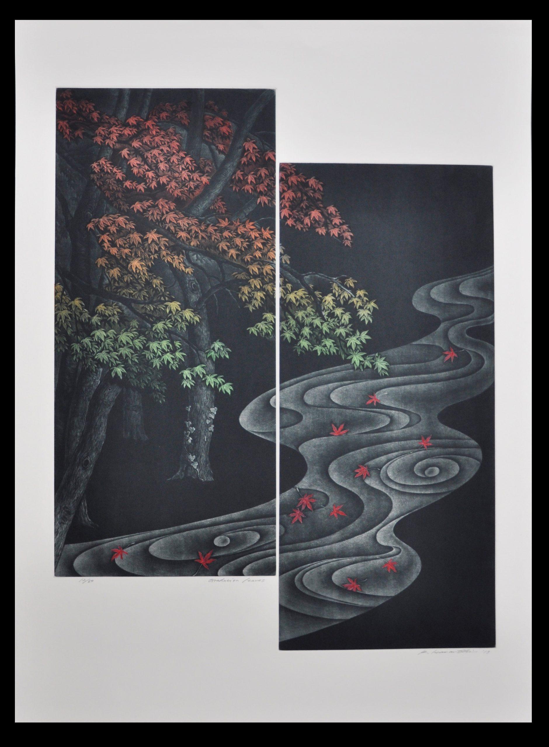 Gradation Leaves by Katsunori Hamanishi