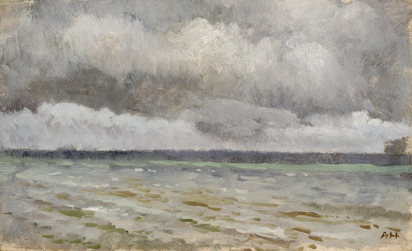 Seascape by Adolf Hiremy-Hirschl